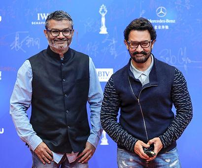 Aamir takes Dangal to China