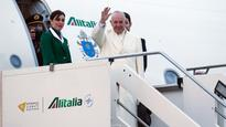 Pope departs for Cuba, first stop before Mexico