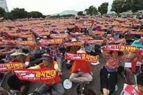 South Koreans protest U.S. missile system