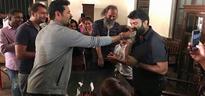 Prabhu Deva gets awestruck over 'Lakshmi' producers' beautiful gift