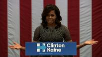 Michelle Obama to campaign with Hillary Clinton for the first time