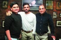 Suresh Bhandary and Vinod G Nair host an informal dinner at Bombay Vintage in Mumbai