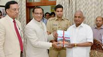 Rajasthan Lokayukta submits 32nd annual report to governor