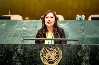 Harvard Alumni Nepali Youth Inspires the World From the UN Headquarter