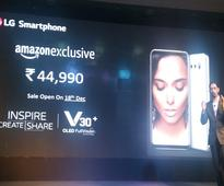 LG's second-most expensive phone, 'V30+', launched in India for Rs 44,990
