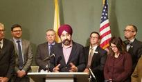 Ravinder Bhalla, New Jersey city's first Sikh mayor, claims death threats made against him, family