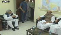 Naidu, Rajnath meet Yechury, hold parleys over presidential polls