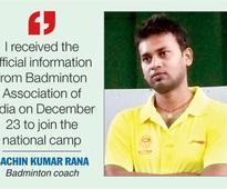 Shuttler mentor bags national assignment