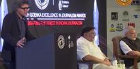 Watch: Raj Kamal Jha shocked PM Modi with Selfie Journalism remark