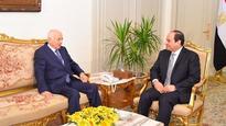 Sisi meets Arab League Secretary-General in Cairo