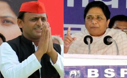 Rivals Akhilesh, Maya may share stage in Bihar