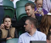 Look whos at Wimbledon