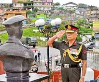 Tribute to martyrs in Meghalaya, Nagaland