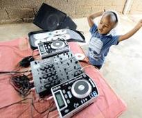 Four-year old DJ eyes Guiness record