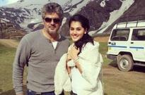 Taapsee excited to shoot with Ajith!