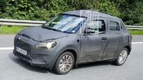 New Suzuki Swift spotted testing