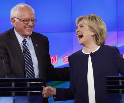 Bernie Sanders jabs back at Clinton's new book