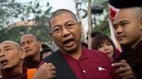 Ultra-nationalist anti-Rohingya monk released from Myanmar prison