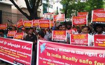 Cauvery dispute: Pro-Tamil protest against Karnataka