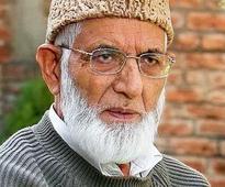 Gilani rejects Omar Abdullah's statement on Kashmir