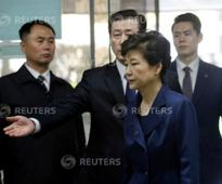 Ousted South Korean president Park Geun