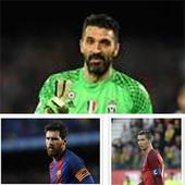 Buffon, Messi, Ronaldo in UEFA's best player short list