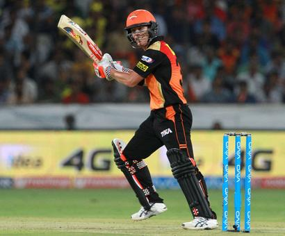 IPL PHOTOS: Warner's unbeaten 90 powers Sunrisers to victory over Mumbai