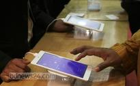 Software on anvil to detect illegal mobile phone handsets