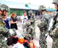 812 suspects arrested in joint Mekong patrol