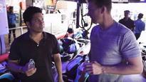 WATCH   Sachin Tendulkar beats Brett Lee in 'Go Karting' race, trolls him on Twitter