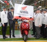 Honda 2Wheelers India inaugurates the  2nd assembly line at its Scooter Only plant in Gujarat