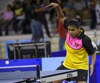 Sharath, Manika lose; Mouma survives