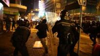 Protesters in court over HK 'rioting'