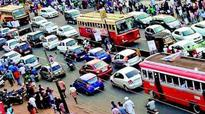 Hyderabad: Diversion at Jubilee Hills check post