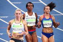 Team GB sisters Porter and Ofili qualify for 100m hurdles final
