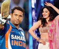 Watch: Sachin Tendulkar and Madhuri Dixit promote 'Make in India Week'