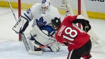 Kadri, McElhinney lead Maple Leafs past Senators 4-2