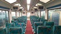 With glass roof and rotating chair, Vistadome coach rolls out on Mumbai-Goa railway route today