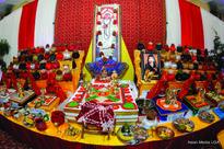 Jalaram Mandir Marks Idol Installation In Renovated Temple