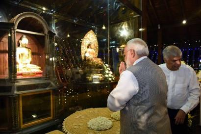 We gave the world the gift of Buddha and his teachings: Modi