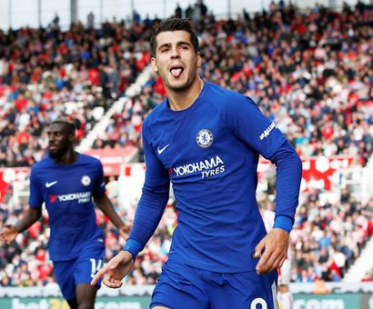 EPL PHOTOS: City thrash hapless Palace 5-0; Morata 'tricks' for Chelsea