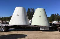 Shuttling Space Artifacts: Rocket Booster Parts Bound for Endeavour Exhibit