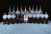 Hon'ble RM'S interaction with IAF Commanders during Air Force Commanders' Conference