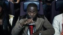 Kevin Hart Enjoys A Refreshing Coca-Cola Zero While On-set At The Taping Of The Coke Zero
