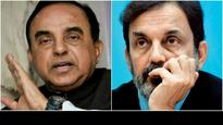 Subramanian Swamy alleges NDTV's Prannoy Roy will escape to South Africa; Roy calls him a liar