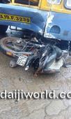 Kasargod: KSRTC bus rams bike - One killed, another injured