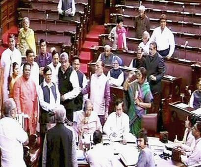 Ruckus in Rajya Sabha over Goa governor's role
