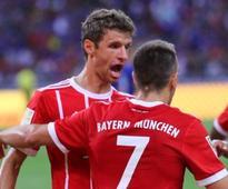 Pre-season friendlies: Thomas Mueller stars for Bayern Munich as German champions beat Chelsea