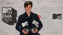 EMAs 2017: Nothing's holding him back as Shawn Mendes bags three awards