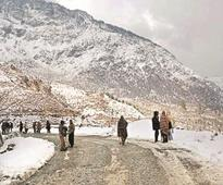 Fresh snowfall in Valley, HP; Leh remains coldest